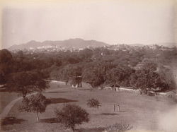 General view of the City from the Residency, [Udaipur]